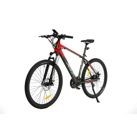 Black/Red Jetson Adventure - Electric Commuter Bike - Side View