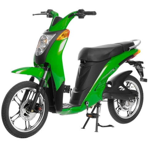 Hunter Green Jetson Electric Commuter Bike - GEN 1 - Front View
