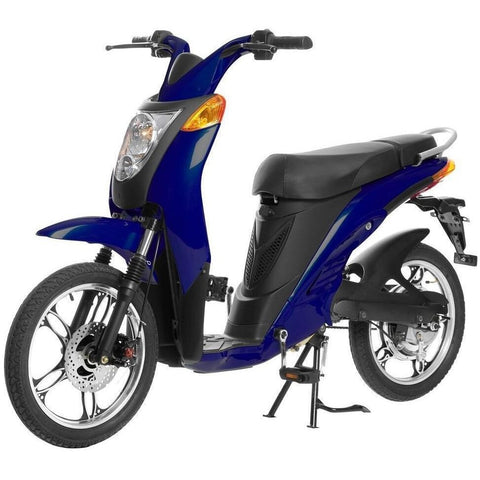 Midnight Blue Jetson Electric Commuter Bike - GEN 1 - Front View