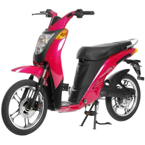 Magenta Pink Jetson Electric Commuter Bike - GEN 1 - Front View