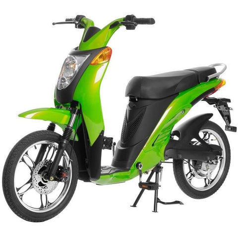Lime Green Jetson Electric Commuter Bike - GEN 1 - Front View