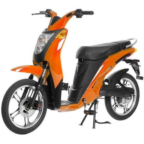 Orange Jetson Electric Commuter Bike - GEN 1 - Front View