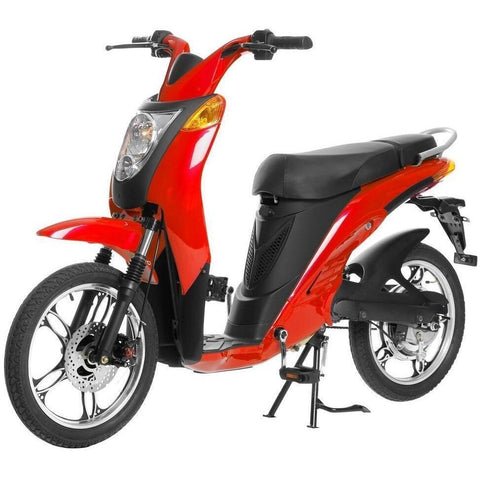 Red Jetson Electric Commuter Bike - GEN 1 - Front View