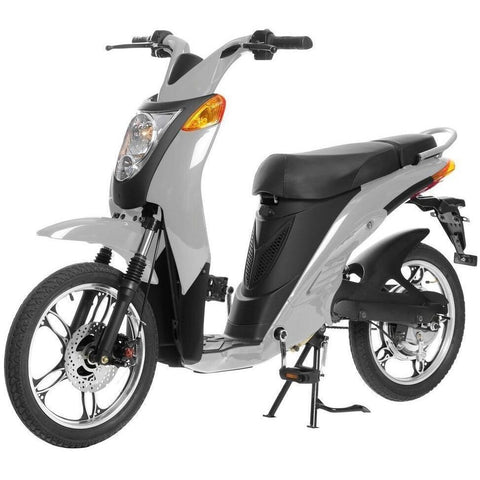 Silver Jetson Electric Commuter Bike - GEN 1 - Front View