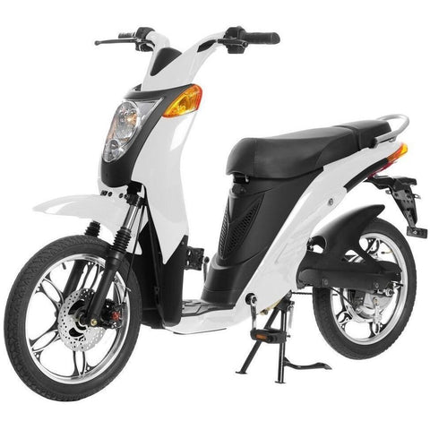 White Jetson Electric Commuter Bike - GEN 1 - Front View