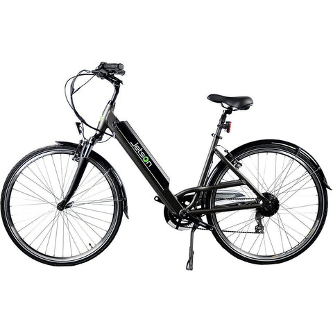 Black Jetson Cruiser Electric Bike - Side View