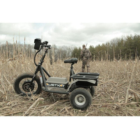 QuietKat Prowler AP - 60V Electric Trike in the field