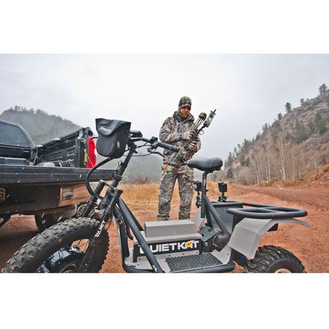 QuietKat Hunter AP - 48V Electric Trike getting ready for a hunt