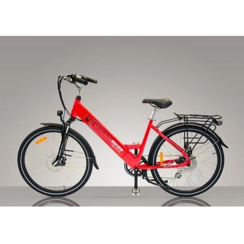 Red Shocke Bikes Ampere - Electric Bike Commuter - Side View