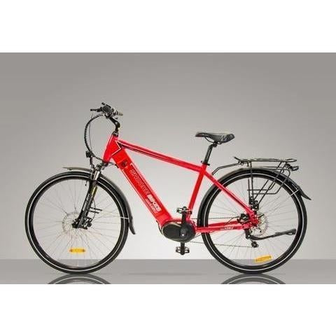 Red Shocke Bikes Surge - Urban Electric Bike Commuter - Side View