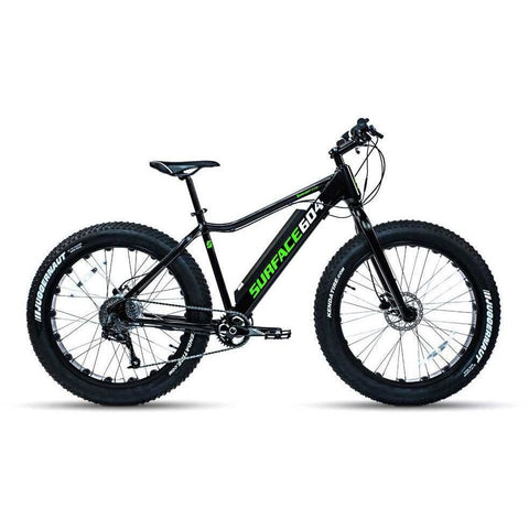 Black Surface 604 Boar - Fat Tire Electric Bike - Side View