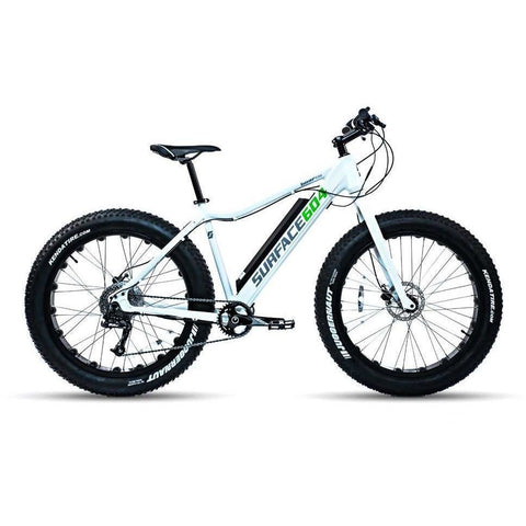 White Surface 604 Boar - Fat Tire Electric Bike - Side View