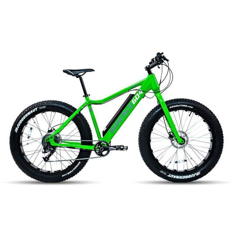 Green Surface 604 Boar - Fat Tire Electric Bike - Side View