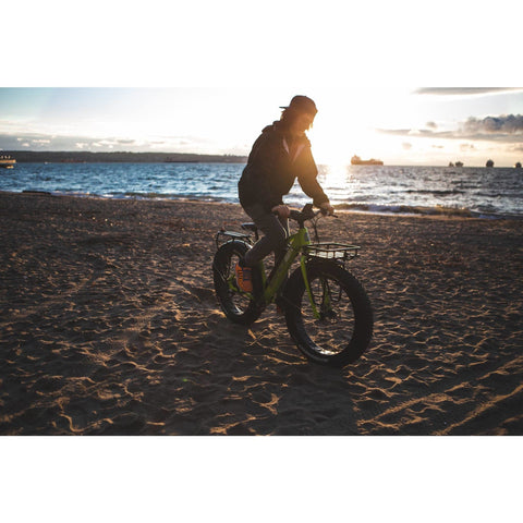 Surface 604 Boar - Fat Tire Electric Bike - On Beach