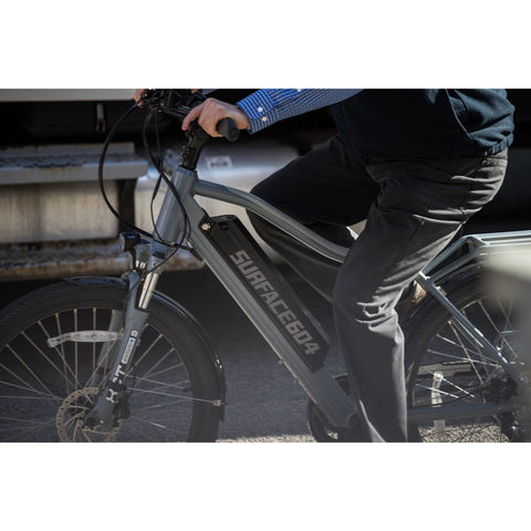 Surface 604 Colt - Electric Bike Commuter - Riding in Street