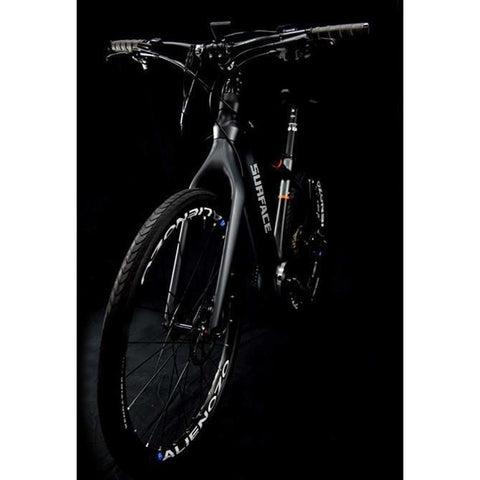 Surface 604 Oryx - Carbon Fiber Commuter Electric Bike - Front View in Dark