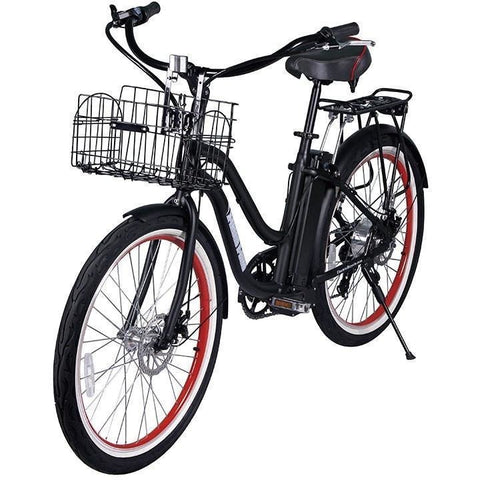 Electric Bike - X-Treme Malibu Beach Cruiser Electric Bike