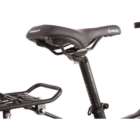 X-Treme Rubicon 48 Volt Electric Mountain Bike - Seat