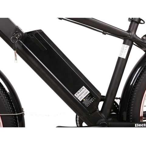 X-Treme Laguna Beach Cruiser 48V Electric Cruiser Bike - Battery