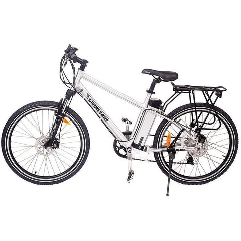 Silver X-Treme Trail Maker - Electric Mountain Bike - Side View
