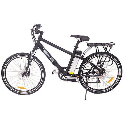Black X-Treme Trail Maker Electric Mountain Bike - Side View