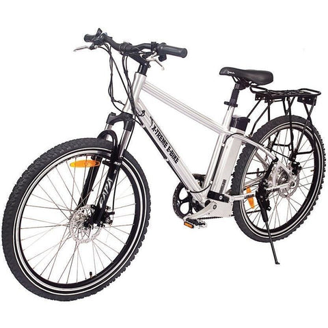 Aluminum X-Treme Trail Maker Electric Mountain Bike - Front View
