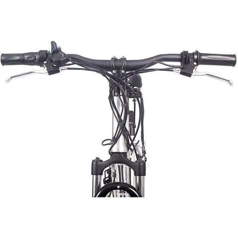X-Treme Trail Maker Electric Mountain Bike - Handle Bars