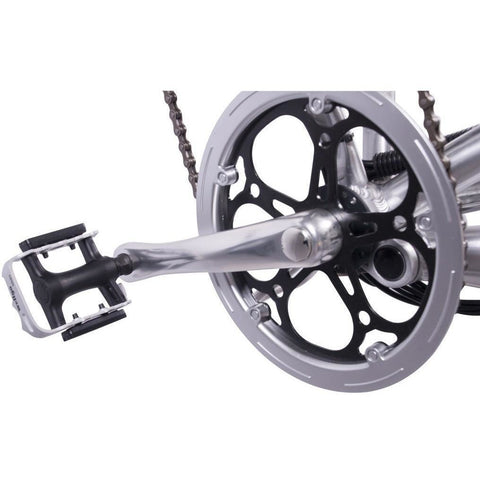 X-Treme X-Cursion Elite Electric Folding Mountain Bike - Pedals