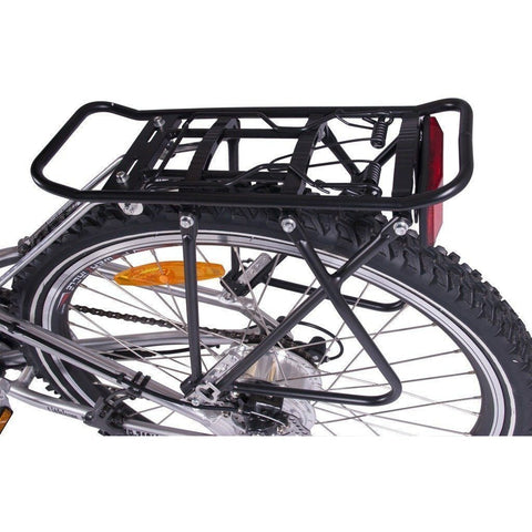 X-Treme X-Cursion Elite 36V Folding Electric Mountain Bike - Rear Rack