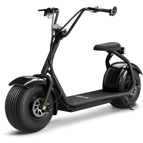 Black Jetson Electric Scooter - FATBOY - Front View