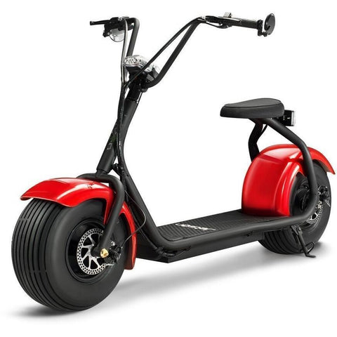 Red Jetson Electric Scooter - FATBOY - Front View