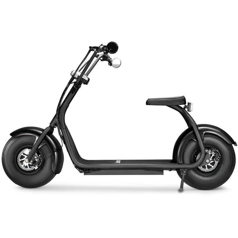 Black Jetson Electric Scooter - FATBOY - Side View