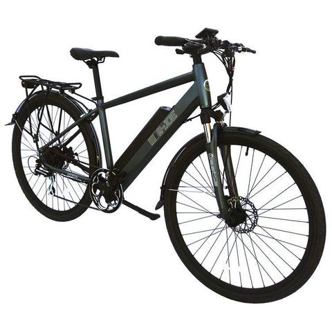 Grey e-Joe KODA Sports Class - Electric Commuter Bike - Front View
