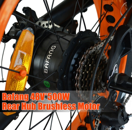 AddMotor M-80 - Fat Tire Electric Mountain Bike