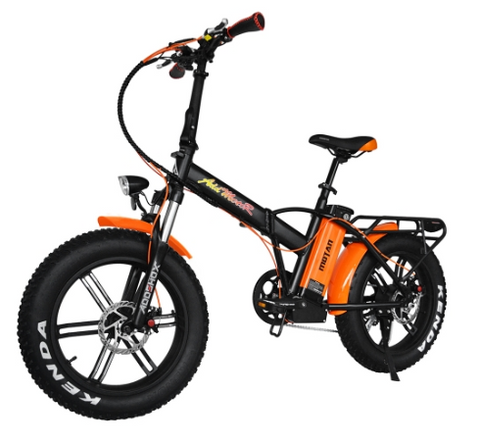 AddMotor Motan M150 R7 - Folding Fat Tire Electric Bike