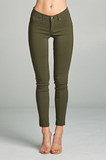 "Better Than Jeans ""Jeggings""--Olive"