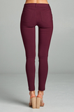 "Better Than Jeans ""Jeggings""--Plum"