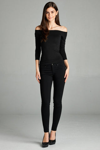 "Better Than Jeans ""Jeggings""--Black"