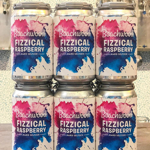 FIZZICAL RASPBERRY HARD SELTZER Case - 4 x 6pk 12oz cans