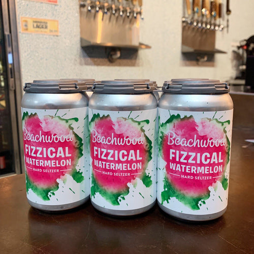 Fizzical Watermelon Hard Seltzer Cans