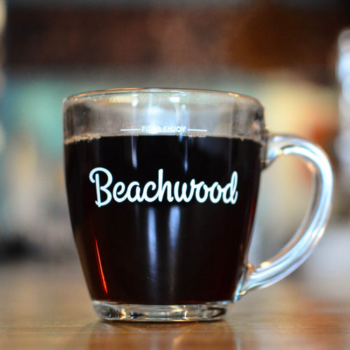 Beachwood Glass Mug