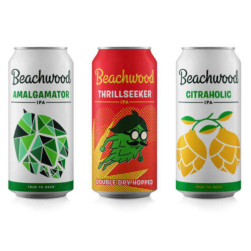 MIXED CASE: DDH Thrillseeker + Amalgamator + Citraholic- 6 x 4pk 16oz cans