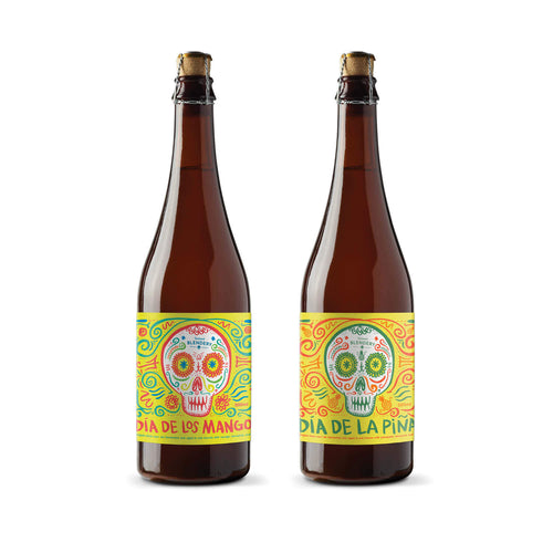 Dia Duo - Dia De Los Mangos x 1 500ml bottle, and  Dia De La Piña x 1 500ml bottle