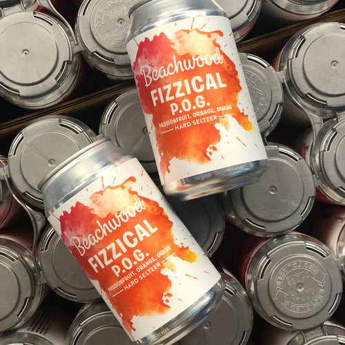 FIZZICAL P.O.G. HARD SELTZER Case - 4 x 6pk 12oz cans