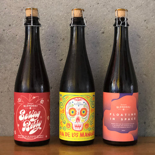 LAMBIC INSPIRED FRUITED TRIO OPTION TWO - 3 x 500ml bottles