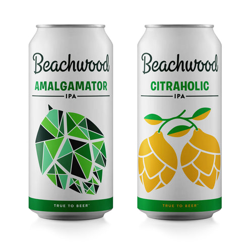 MIXED CASE: AMALGAMATOR + CITRAHOLIC IPA Case - 6 x 4pk 16oz cans