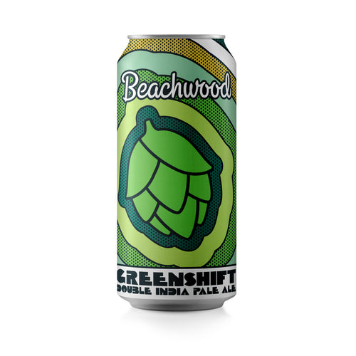 GREENSHIFT DIPA Case - 6 x 4pk 16oz cans
