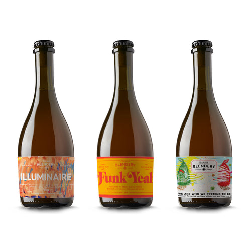 GUEUZE INSPIRED TRIO  - 3 x 500ml bottles