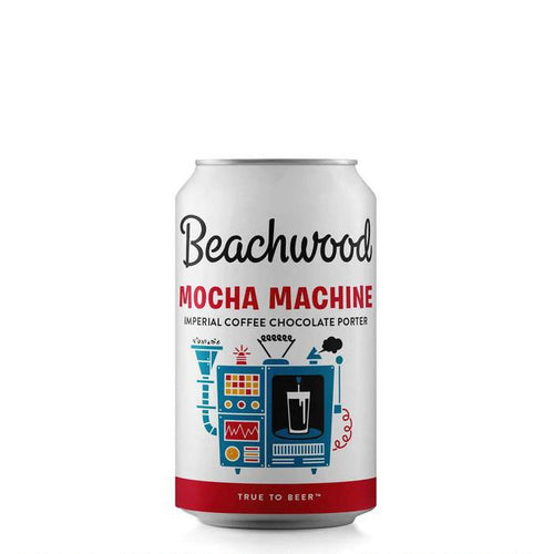 Mocha Machine Imperial Coffee Chocolate Porter  - 1/2 case