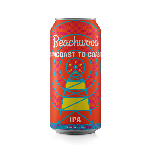 SIMCOAST TO COAST IPA Case - 6 x 4pk 16oz cans